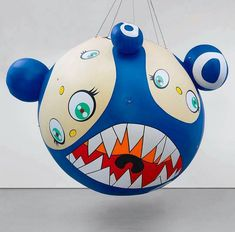 It's by Takashi Murakami Takashi Murakami Prints, Sculpture Art, Sculptures, Superflat, Urban Art, Flower Designs, Art Inspo, Balloons, Voltage Converter
