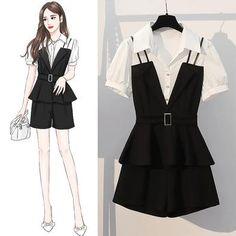 Kpop Fashion Outfits, Girls Fashion Clothes, Stylish Outfits, Cute Casual Outfits, Fashion Drawing Dresses, Fashion Illustration Dresses, Fashion Dresses, Korean Girl Fashion, Cute Fashion