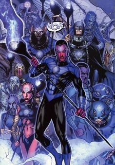 Thal Sinestro & The Indigo Lantern's Dc Comics Heroes, Dc Comics Characters, Dc Comics Art, Marvel Dc Comics, Green Lantern Green Arrow, Purple Lantern, Green Lanterns, Comic Books Art, Comic Art