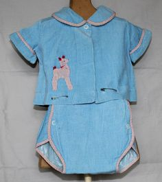 Vintage Baby Boy Two Piece Corduroy Outfit by by ilovevintagestuff