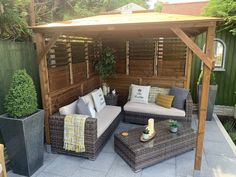 Create an outdoor living area to relax in your garden with an Erin Gazebo.
