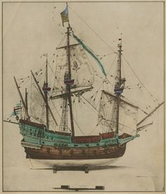 elizabethan ship