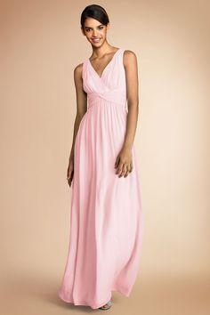 Women S Natural Arabelle Long Dress In Silk Chiffon Barn Weddings Wedding And