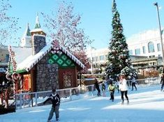 Ice skating rink, The Village at Meridian - Picture of The Village Cinema, Meridian - Tripadvisor Vacation Trips, Day Trips, Vacations, Vacation Ideas, Meridian Idaho, Christmas Town, Magical Christmas, Christmas Destinations