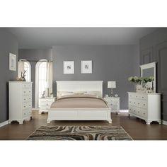Trend White Bedroom Furniture Set Decoration