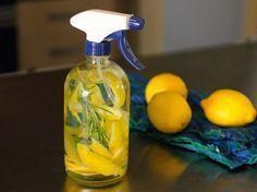 Cómo hacer un limpiador multiuso 3 en 1 para el hogar