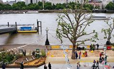 summertime on the Southbank