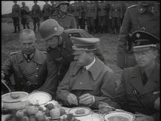 Hitler eating his beloved Leibniz cookies.