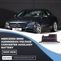Xenons4u offer Mercedes-Benz A2059053414 Voltage Converter Auxiliary Battery around UK at very affordable prices. For complete information visit our website now! Battery Shop, Voltage Converter, Mercedes Car, Benz Car, Website