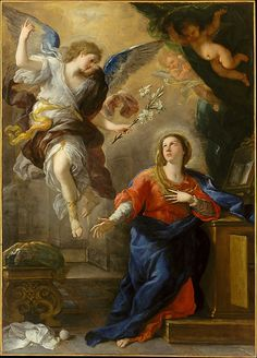 The Annunciation  Luca Giordano  (Italian, Naples 1634–1705 Naples)