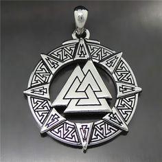 Valknut Odin Pendant