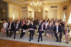 Grand Ducal Family attends a concert at Grand Ducal Palace