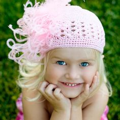 Sweet Little Girl Looks Pretty in Pink