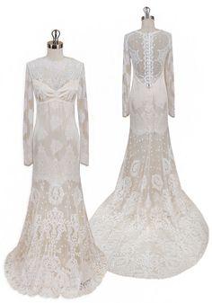 Claire Pettibone Adeline Wedding Dress
