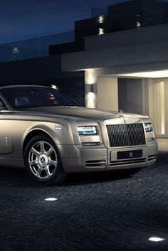 Fine Living — Rolls Royce Phantom Well this is the car that won...