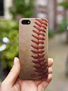 Textured Baseball Case availble in iphone 4/4s 5/5s /5c 6/6+ Galaxy s3,4,5 note 2,3,4 http://www.inspiredcases.com/ #InspiredCases