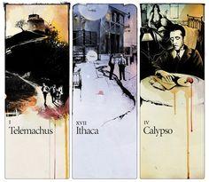 Graphic arts by Alexey Kurbatov, via Behance