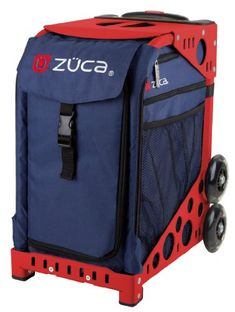 Zuca Sport Insert Bag Midnight Navy with Sport Frame Red ** You can find more details by visiting the image link. (This is an affiliate link) #SkateBags