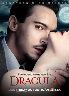 Jonathan Rhys-Myers is the new tv #dracula #vampires