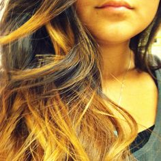 My new #ombre hair.