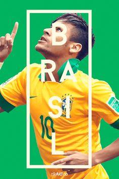 これはカッコ良すぎるW杯。タイポグラフィが美しいもう1つのW杯2014ポスター - FIFA World Cup 2014 Posters