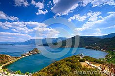 Lugu Lake - Download From Over 27 Million High Quality Stock Photos, Images, Vectors. Sign up for FREE today. Image: 46202154