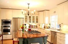 Large Gourmet Kitchen | Light Kitchens | Inspiration Gallery | renovateyourworld.com