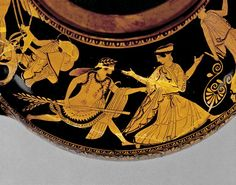 Pottery: red-figured hydria. -450BC-440BC
