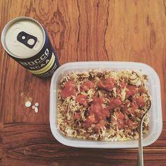 """""""Lite påfyllnad av energi innan nattens jobbpass. #nocco #bcaa #food #foodprep #healthy #suplements #vitamins #köttfärs #ris #nightshift #work"""" Photo taken by @theresetb87 on Instagram, pinned via the InstaPin iOS App! http://www.instapinapp.com (08/19/2015)"""