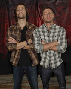 The boys. What makes this better is I was listening to Carry On My Wayward Son on iTunes when I found this picture :)