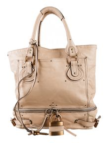 handbags see by chloe - Guaranteed authentic chloe paddington lock handbag with orig. tags ...