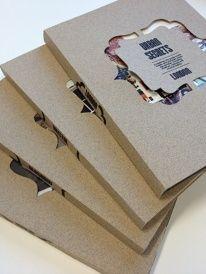 [Inspirations editoriales] - Couverture de livre #Designspiration #cover #découpe #innovation
