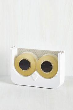 47b077af52f39 Let's Just Wing It Tape Dispenser, $14.99, modcloth.com - Seventeen.com