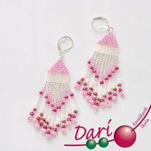 návody Seed Bead Jewelry, Seed Beads, Beaded Jewelry, Beadwork, Jewerly, Drop Earrings, Tutorials, Jewlery, Jewels
