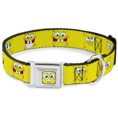 Buckle-Down 9-15' Sponge Bob Expressions Yellow Dog Collar *** Check out this great product. (This is an affiliate link and I receive a commission for the sales) #DogCare