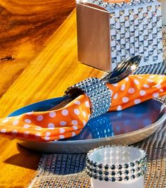 DIY Napkin Ring | Bling Napkin Ring | Find David Tutera at @Jo-Ann Fabric and Craft Stores