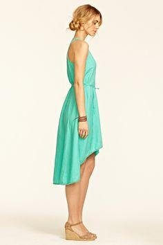 Rosario Linen Cascade Dress::VIEW ALL::DRESSES::CLOTHING::Calypso St. Barth