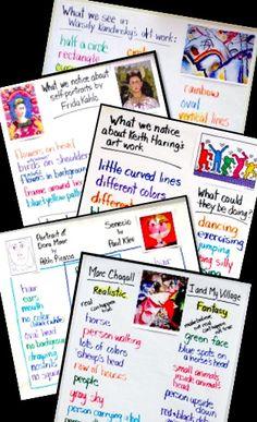Learn Language Arts Strategies with Art - use art observation to focus on language arts skills.