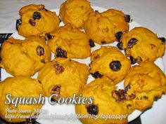 Squash Cookies http://www.filveggie.com/desserts/kalabasa_squash_cookies.php #Squash #Cookies