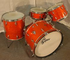 Gretsch 60's Vintage Drum Set  http://www.vintageandrare.com/category/Drums-Percussion-216