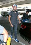 JAMIE LANDS IN LA FOR THE CONTINUATION OF MY DINNER WITH HERVÉ FILMING