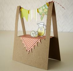 Notable Nest: Lemonade Stand Banner Card