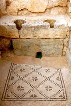 Charming double latrine in a private house from Bulla Regia, Tunisia. Courtesy of Dr Sophie Hay. http://pompei79.wordpress.com/