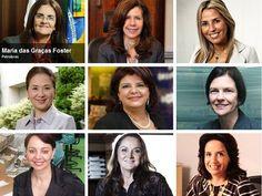 Essas são as mulheres que dão as cartas no Brasil