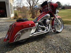 2006 Custom Harley Davidson Street Glide