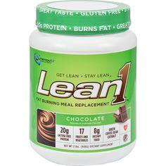 Nutrition53 Lean1 Nature's Performance Shake - Chocolate - 2 Lbs