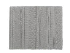 Knitted fabric 140cm headboard in grey  Tricot