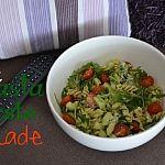 Luie Pasta Pesto Salade
