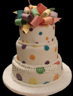 #dots #cake #sugarmania www.facebook.com/SugarmaniaCakes www.sugarmania-cakes.blogspot.com