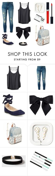 """""""lace up flats"""" by fearless-eater-16 on Polyvore featuring Kavu, MICHAEL Michael Kors, Steve Madden, Chanel, Red Camel, Dorothy Perkins and Christian Dior"""